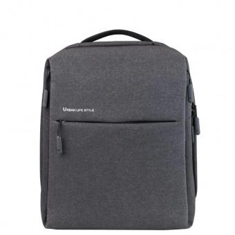 Рюкзак Xiaomi City Backpack 1 Generation в тёмно-сером цвете по лучшей цене