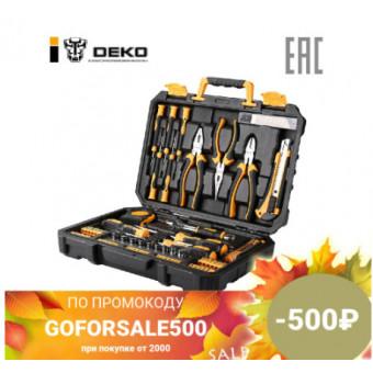 Набор инструментов Deko TZ82 KRT82 82 предмета по интересной цене