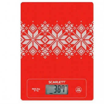 Простые кухонные весы Scarlett SC-KS57P40
