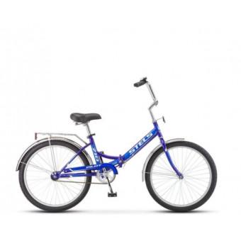 Велосипед Stels 24' Pilot 710 в синем и малиновом цветах со скидкой по промокоду