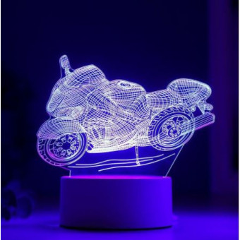 LED светильник «Гоночный мотоцикл»