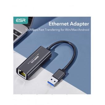 Ethernet адаптер ESR USB 3.0 Wired Network Adapter по отличной цене