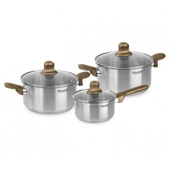 Набор посуды Rondell Impressia Bronze RDS-1286 6 пр. по вкусной цене