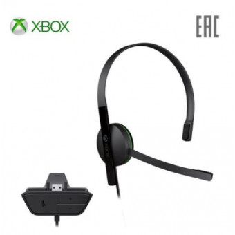 Игровые наушники Microsoft Chat Headset S5V-00015 для Xbox One по суперцене