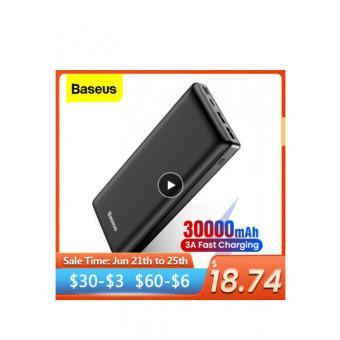 Внешний аккумулятор Baseus 30000mah по суперцене