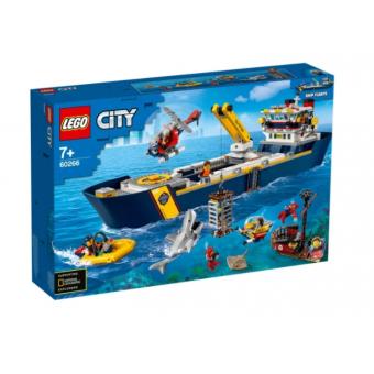Подборка конструкторов LEGO , например, LEGO City Океан: исследовательское судно