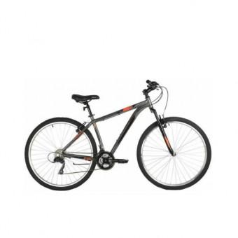 Скидка на велосипед Foxx Atlantic в сером цвете в  Ситилинке