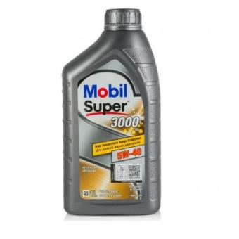 Моторное масло MOBIL Super 3000 X1 5W-40 1 л по суперцене