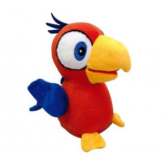 Интерактивная мягкая игрушка IMC Toys Попугай Charlie, красный по лучшей цене