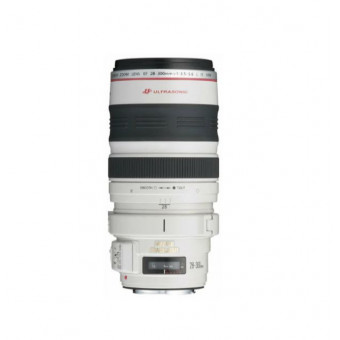 Объектив Canon EF 28-300mm f/3.5-5.6L IS USM белый по суперцене