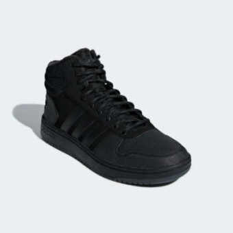 Модные зимние баскетбольные кроссовки HOOPS 2.0 MID в Adidas по крутой цене