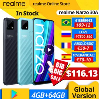 Cмартфон Realme Narzo 30A с хорошей скидкой
