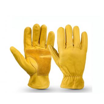 Кожаные перчатки OZERO из воловьей кожи, усиленные с накладками