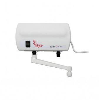 Бюджетный проточный электрический водонагреватель Atmor Basic 3.5 по низкой цене