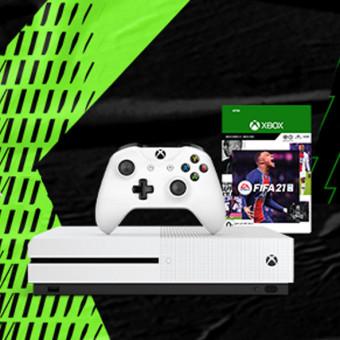 Игра FIFA 21 всего за 990₽ при покупке Xbox One в Эльдорадо