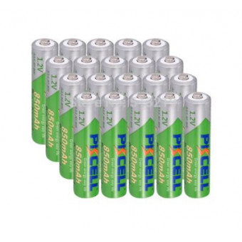Аккумуляторы AAA 850 мАч 1,2 в Ni-Mh 20 шт по крутой цене