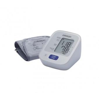 Тонометр Omron M2 Basic + адаптер + средняя манжета (HEM 7121-ARU) по низкой цене