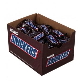 Конфеты Snickers minis, коробка 2900 г по суперцене