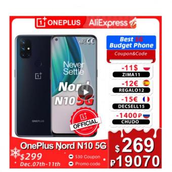 Смартфон OnePlus Nord N10 на AliExpress по отличной цене