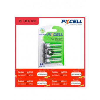 Аккумуляторная батарея PKCELL AA 2200mAh 4 шт. по приятной цене