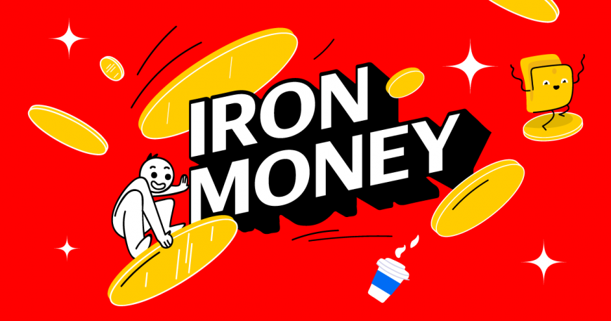 Яндекс.Деньги - раздают миллион рублей баллами в челлендже Iron Money